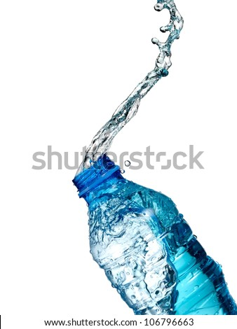 Water bottle up