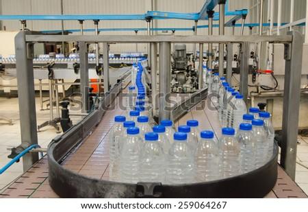 Water bottling plant.