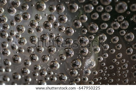 Water bubbles #647950225