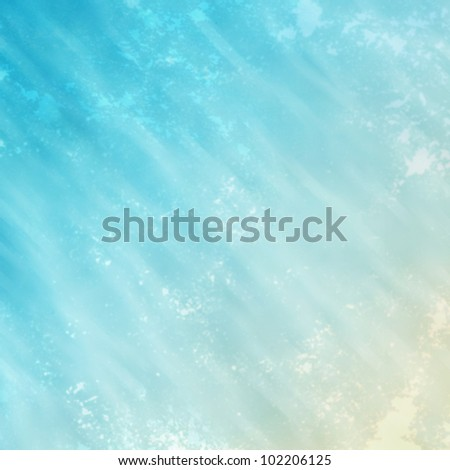 Water color abstract, sea feeling with paper texture background.