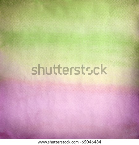 Water color on old paper texture background