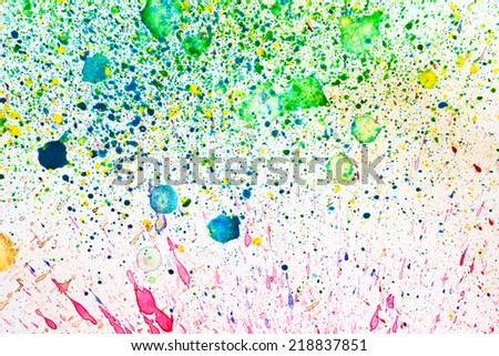 water color splash