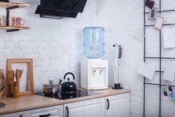 Water cooler in modern kitchen