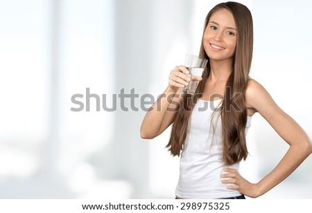 water  drinking  women.