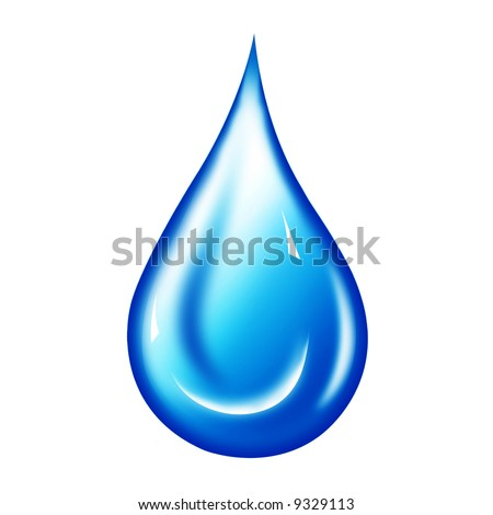 Water Droplet Clipart. stock photo : Water drop