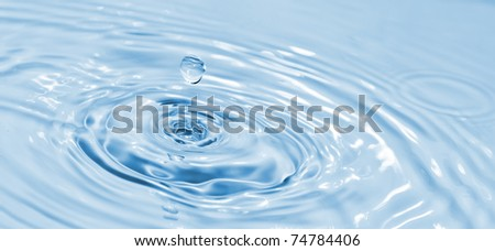 water drop light blue. See my portfolio for more