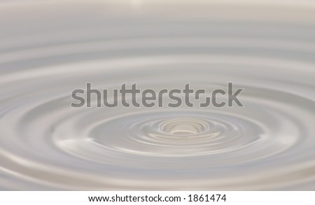 water drop & ripple
