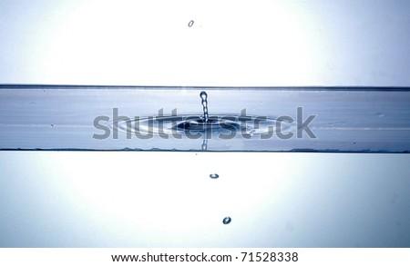water drop splashing - Shutterstock ID 71528338