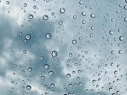 Water droplet background / Water is a transparent and nearly colorless chemical substance that is the main constituent of Earth's streams, lakes, and oceans, and the fluids of most living organisms.