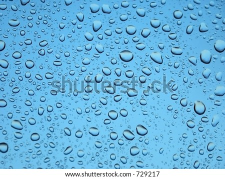 stock photo : Water droplets