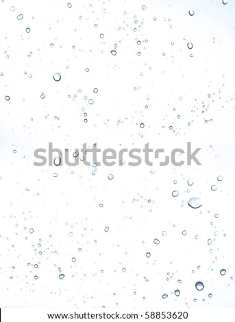 water drops - stock photo