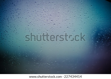 Water drops at gradient background #227434414
