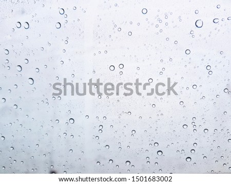 Water drops background , rain drops on glass #1501683002