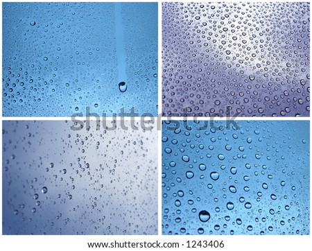 Water drops composition