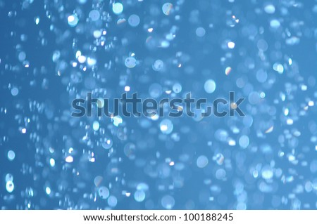 water drops falling from a shower indoors