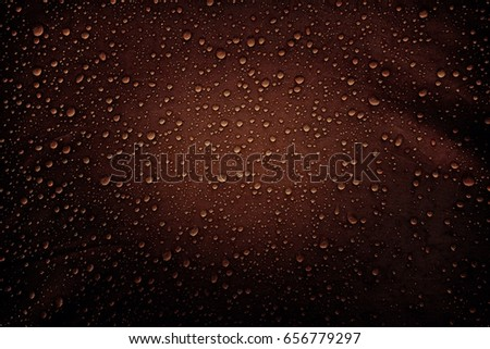 Water drops on the fabric - Shutterstock ID 656779297