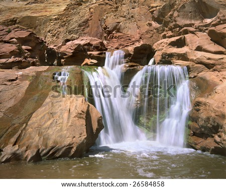 Water Fall, Fremont River, Grand Staircase Escalante Region, Utah