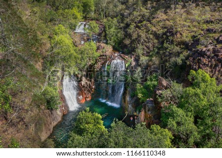 Water Fall in Litchfield National Park, Northern Territory, Australia. #1166110348