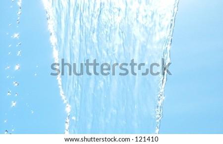 Water Falling - stock photo