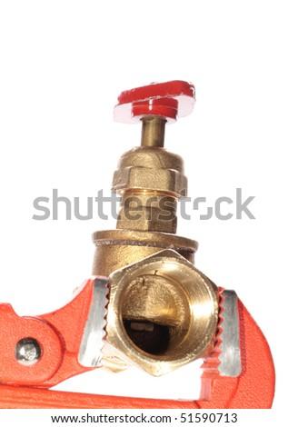 water faucet