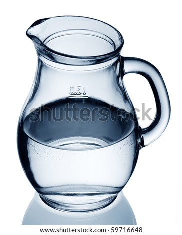 water in a jug