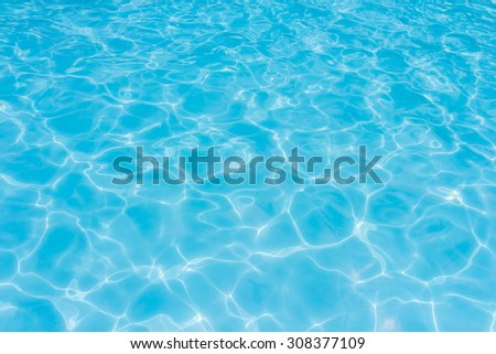 water in swimming pool rippled water detail background - Shutterstock ID 308377109