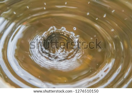 Water is a chemical compound. H2O is a water molecule composed of one oxygen atom and two hydrogen atoms bonded by covalent bonds. #1276510150