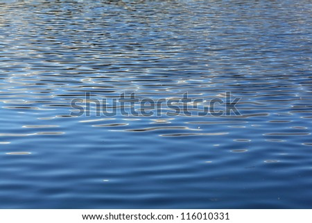water, lake, wave, background