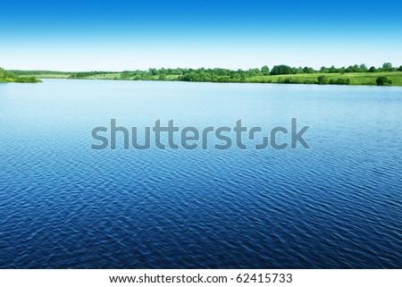 Water landscape. #62415733
