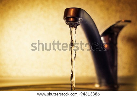 water leakage from the tap