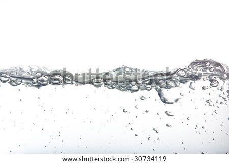 water line closeup
