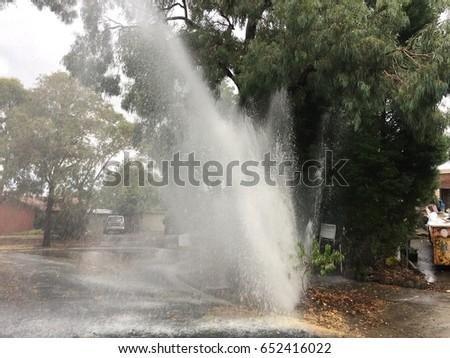 Water main failure #652416022