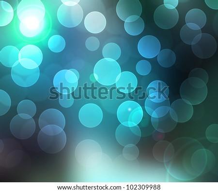 Water Natural Bokeh Lights