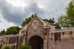 Water Palace Taman Sari. Water Castle is a site of a former royal garden of the Sultanate of Yogyakarta