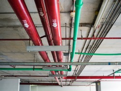 Water pipe, safety and clean watering system in condominium, building construction