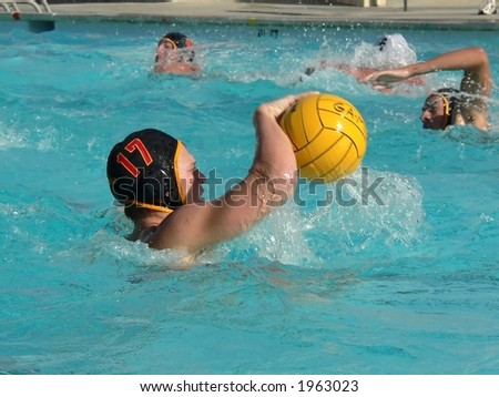 Water Polo Action