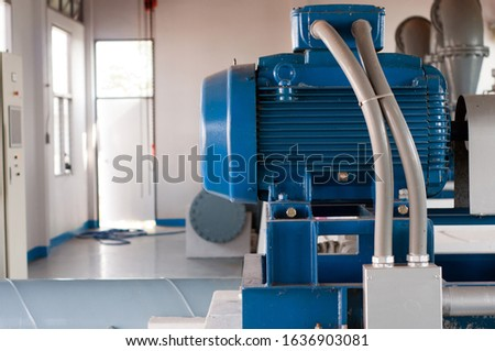 Water pump is used to pump water.