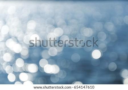 water reflection bokeh #654147610