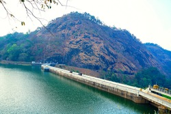Water Reservoir Mattupetty Dam Munnar Kerala India