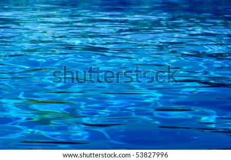 Swimming Pool Background water ripples at swimming pool background stock photo 53827996