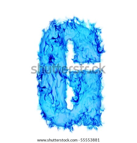 G Letter In Water Water Smoking Letter G