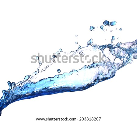 Water  splash  - Shutterstock ID 203818207