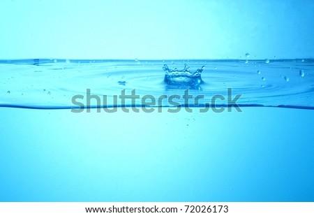 Water splash - Shutterstock ID 72026173