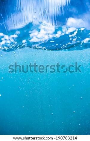 WATER SPLASH BACKGROUND #190783214
