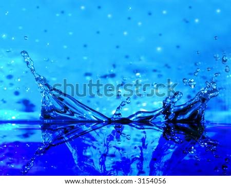 water splash background (water series B, no:1)