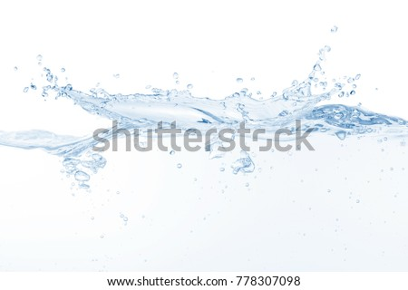Water splash,water splash isolated on white background,blue water splash,water, #778307098