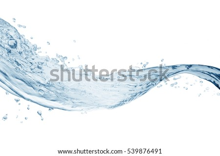 Water splash,water splash isolated on white background,water   #539876491