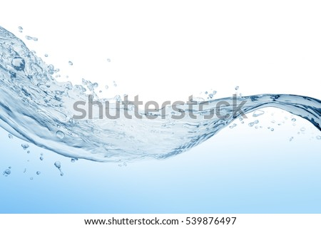 Water splash,water splash isolated on white background,water   - Shutterstock ID 539876497