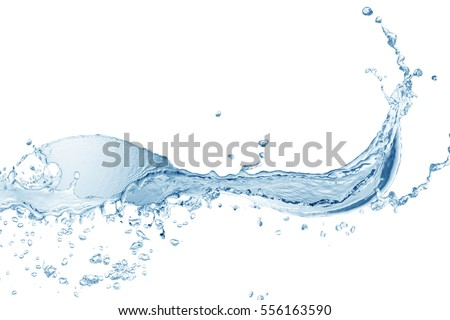 Water splash,water splash isolated on white background,water #556163590