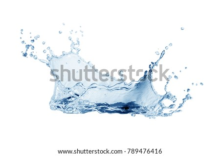 Water splash,water splash isolated on white background,water #789476416